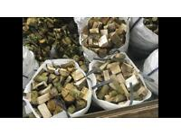 Hardwood and softwood firewood