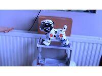 Teksta robotic dog battery operated