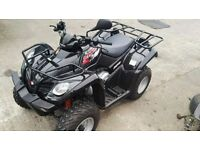 KYMCO MXU 250R ROAD LEGAL QUAD IMMACULATE LOW MILES VERY RELIABLE!