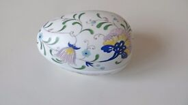 Coalport China Trinket Egg