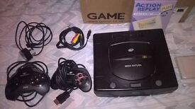 Sega Saturn And Games
