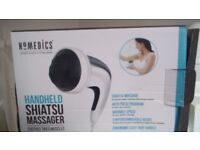 Shiatsu Massager - Homedics Handheld - boxed - unwanted gift