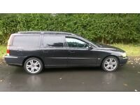 RARE VOLVO V70 d5 6speed manual 7 seater