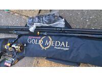 Avanti Gold Medal Powerwaggler Rod & Reel set