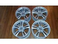 "BMW 4x 20"" Wheels Genuine OEM M-sport GT F07 F01 F02 F03 F04 M303"
