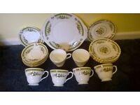 Duchess dovedale 440 bone china tea set.