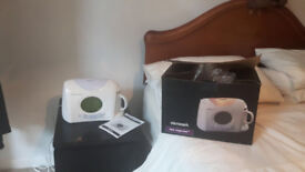 Tea Maker Micromark Tea Express Bedside Brew And Alarm Clock Like New Boxed Never Used