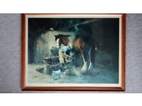 The Old Forge, David Shepherd, Signed, Limited Edition Print 13/850