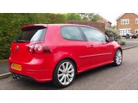 2007(57) VW GOLF R32 RARE TORNADO RED FULLY LOADED **MINT EXAMPLE** PX