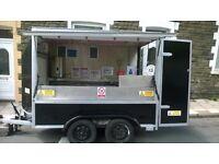 box trailer burger van for sale
