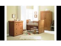 East Coast Langham 3 piece nursery Set