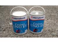 Cruiser UNO EU antifouling paint, Dover White, 5L