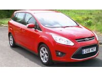 2015 Ford GRAND C-Max 1.6 TDCi Zetec 7-SEATER, 20k, Warranty, LOW Miles, One Owner, Excellent!!