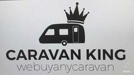 We buy any caravan GET CASH Anything considered all areas covered CARAVANKING