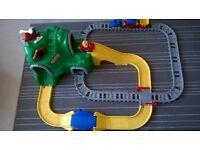 Little Tikes Peak Road n' Rail Set - £10