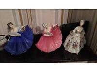 Royal Dalton dolls
