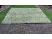 Rug, Soft Green, suit living room or conservatory