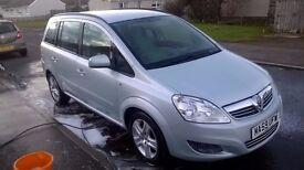Vauxhall Zafira, 2009, 7 seater, £2250
