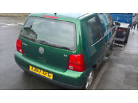 VW LUPO 1.0 1.4 BREAKING ALL LUPO.S PARTS