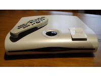 Pace Sky Digibox With Remote and Freeview Sky Viewing Card