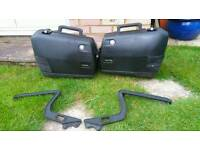 Bmw k75 rt k100 touring panniers /luggage carriers + other spares