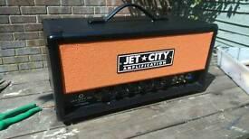 Jet City JCA20H 20 watt all tube head. HIGH GAIN MODDED