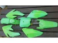 Pitbike plastics pit bike fairings crf 70 crf50 cr crf kx ktm yz rm