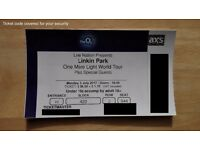 Linkin Park One More Light World Tour at The 02 London 3th July