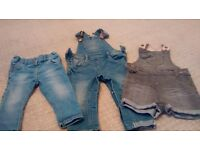 Next girls trousers age 9-12 months