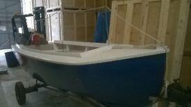 13' day/leisure sea boat