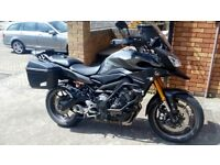 2015 - YAMAHA MT-09 TRACER 900, ABS & TRACTION CONTROL, THREE RIDING MODES