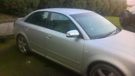 SOLD!!! 2004 Audi A4 2.5tdi for repair, MOT'd to May 2018