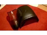 Triumph Tiger 955i rear gel seat and front screen