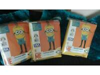 Fancy dress 3 x Adult Minions