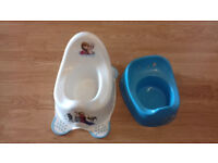 Pair of potties for potty training - used