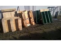 ALL GONE NOW - Old wooden windows/ PALLETS/ used, DIY ad no 1 Free FREE