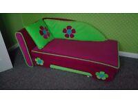 Lovely girl sofa bed