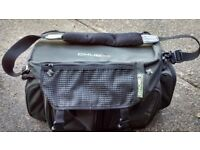two fishing tackle bags including tackle boxes