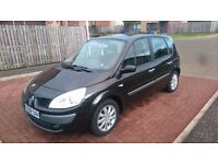 2008 renault scenic, long mot, full service history, £1250may swap p/ex why try me