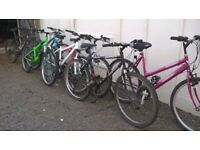 ADULT MOUNTAIN BIKES ladies all have 26 IN WHEELS SEE ALL PIC