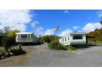 Caravan for hire Scotland Perthshire Comrie
