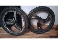 """20"""" bmx bike mag wheels"""