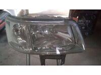 vw t5 transporter headlights