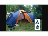 Footpath Outdoor Pursuits hyperdome tent for 6.