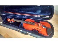 Primavera Prima 300 Full size violin 4/4 with shoulder rest