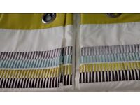 New & Unused Thermal Backed & Fully Lined Dunelm Mill Eyelet Curtains