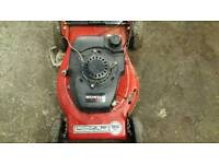 Petrol lawnmower self propelled lawn mower