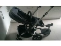 Bugaboo Cameleon 3 With comfort board in Grey. Excellent condition
