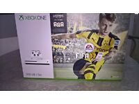 xbox one 500gb white latest model with fifa 17