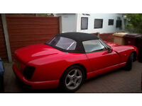 1994 TVR CHIMAERA SOLID RED DEC.18 MOT 6800O MILES